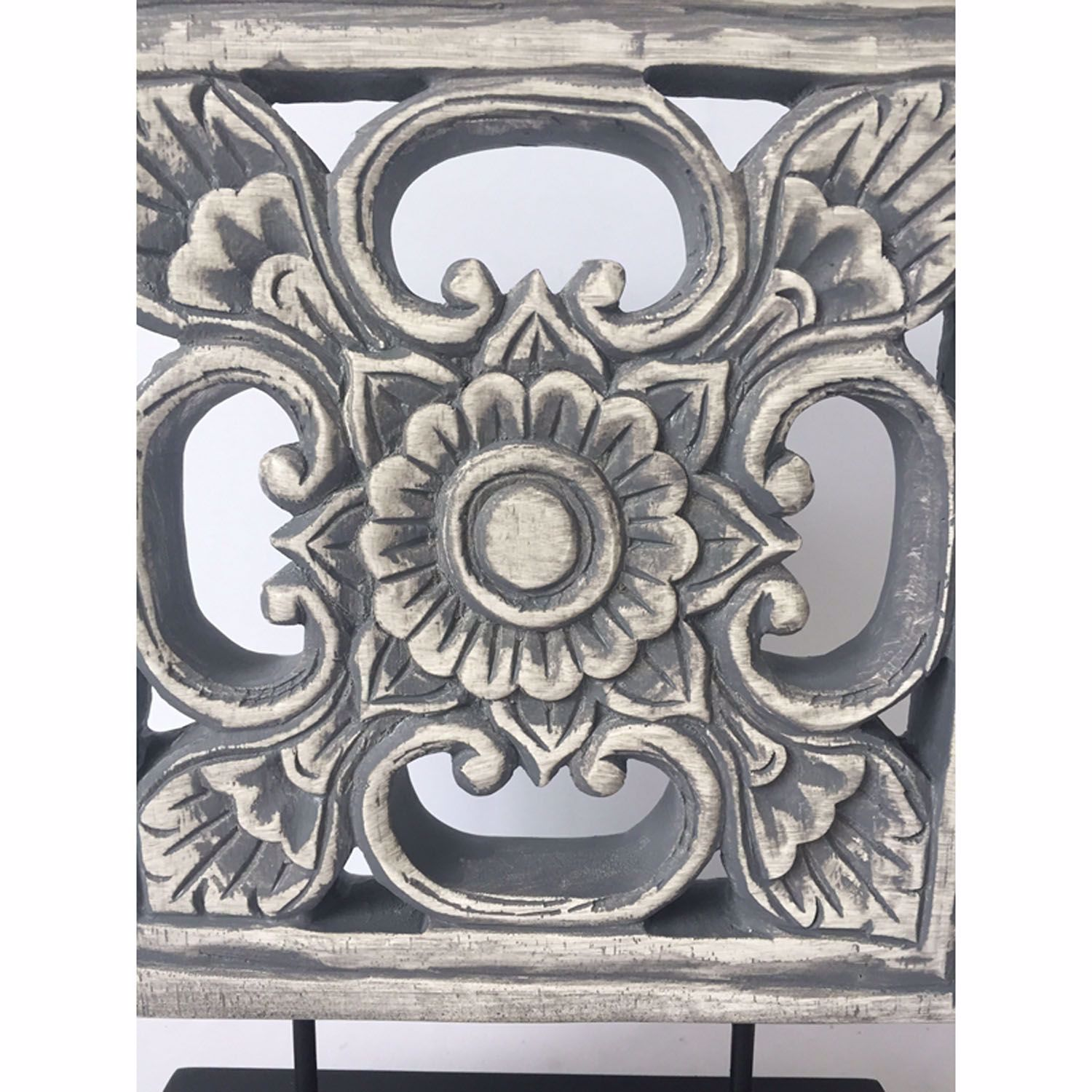 Picture of Grey Square Table Decor
