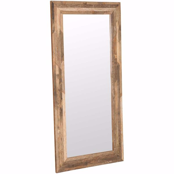 Picture of Rustic Mirror Frame Large