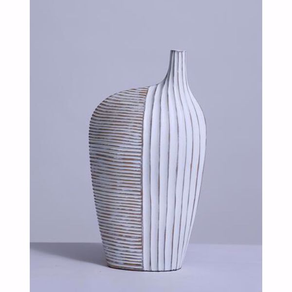 Picture of White Tall Design Vase