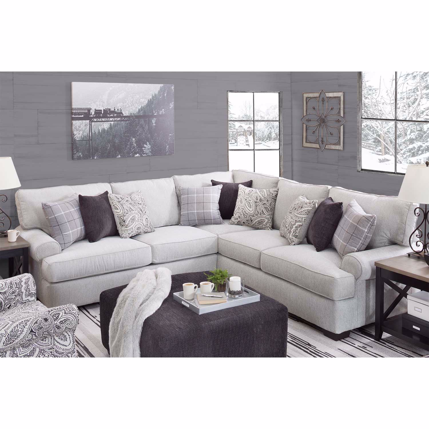 Picture of Griffin 2PC Sectional with LAF Sofa