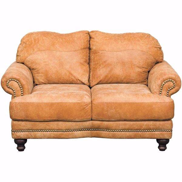 Picture of Austin Italian All Leather Loveseat