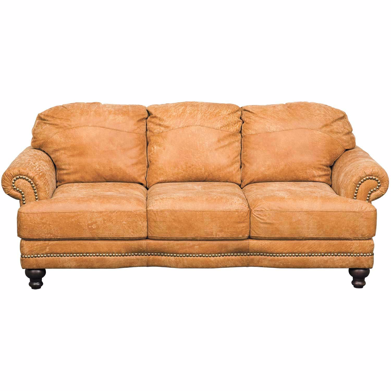 Austin Italian All Leather Sofa | 4577S OUTBACK RANCH 42000 | Soft ...