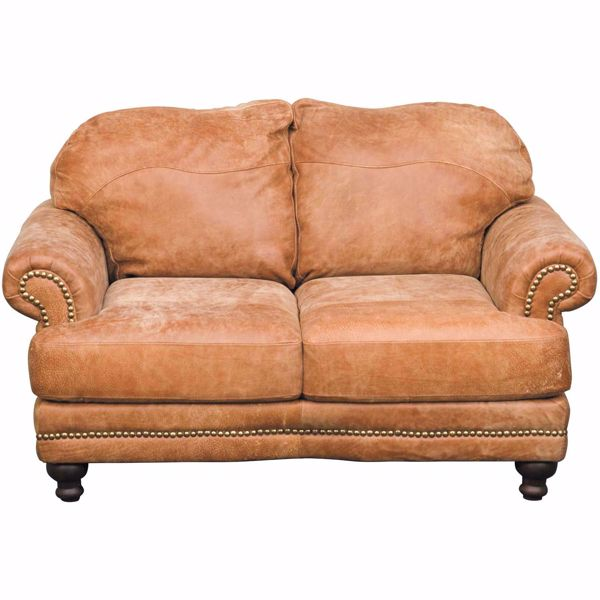 Picture of Wade Italian All Leather Loveseat