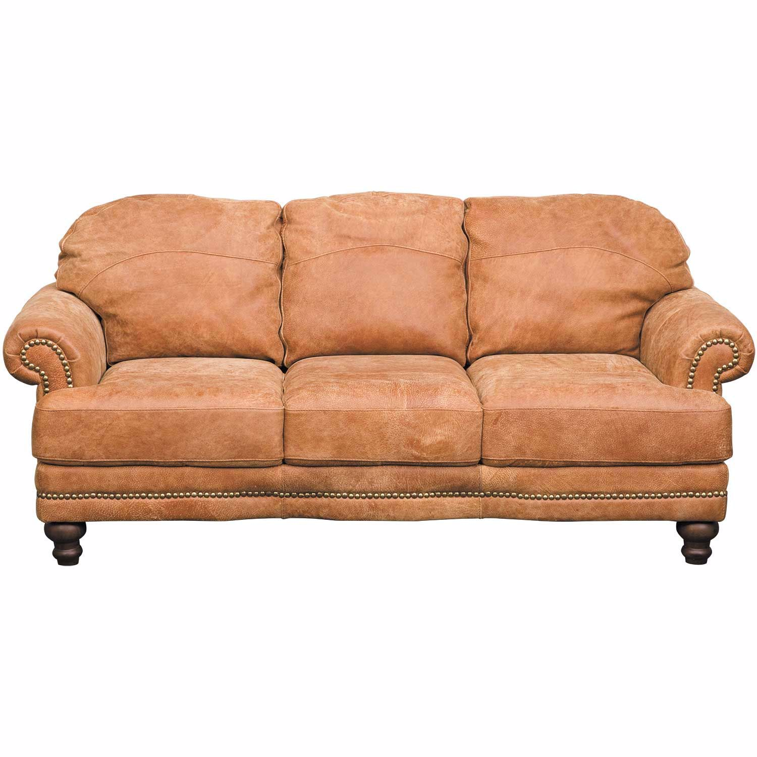Wade Italian All Leather Sofa