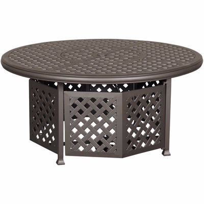 """Picture of MacII 52"""" Round Gas Fire Pit"""