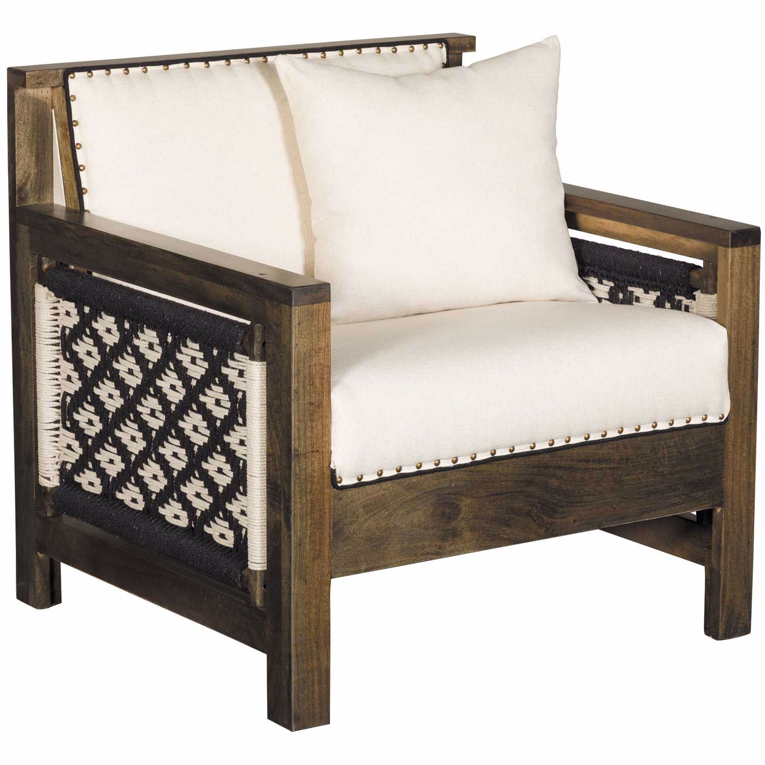 Excellent Woven Accent Chair Gmtry Best Dining Table And Chair Ideas Images Gmtryco