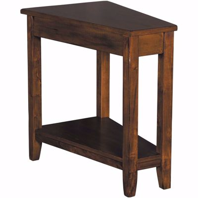 Picture of Dark Chocolate Chairside Table