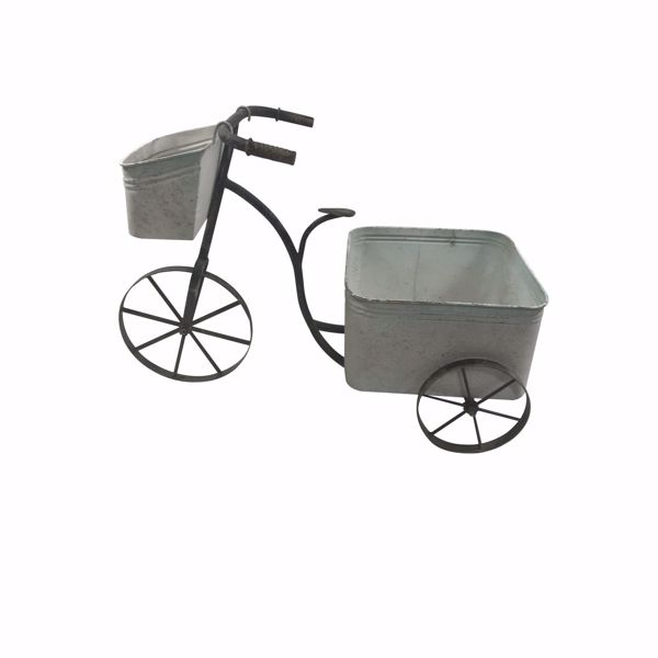 Picture of Galvanized Bike Planter