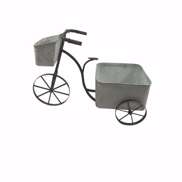 Picture of Galvanized Bike Planter