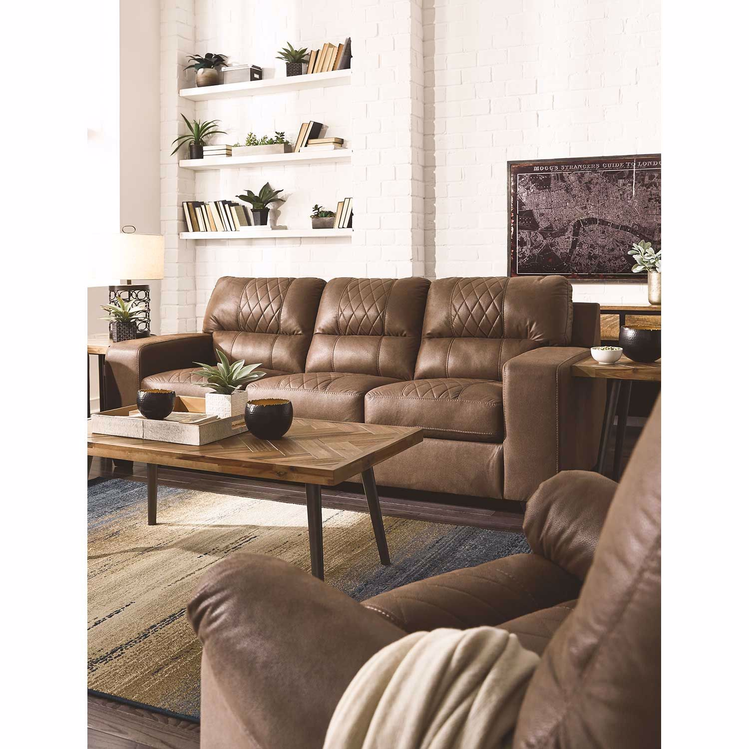 Picture of Narzole Coffee Rocker Recliner