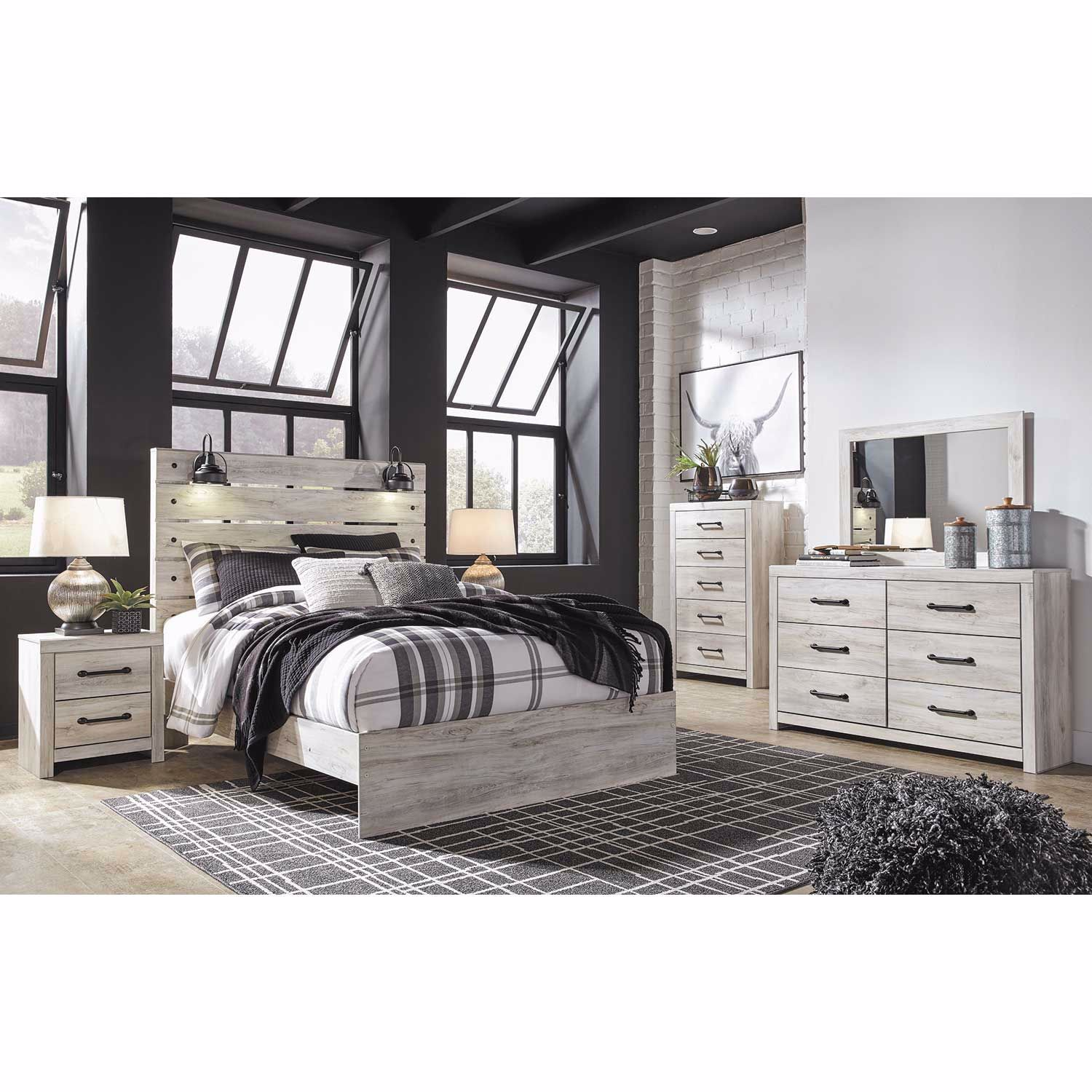 Cambeck 5 Piece Bedroom Set B192 Qbed 31 36 46 92 Ashley