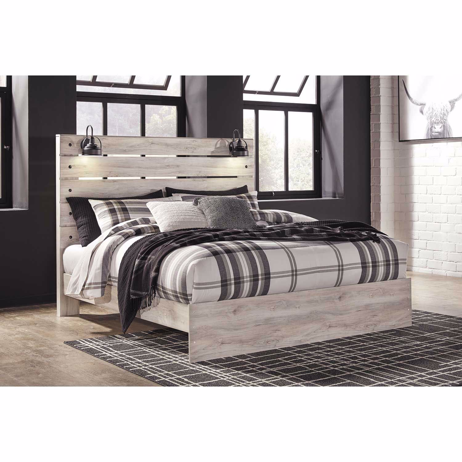 Cambeck King Panel Bed B192 56 58 97 Ashley Furniture Afw Com
