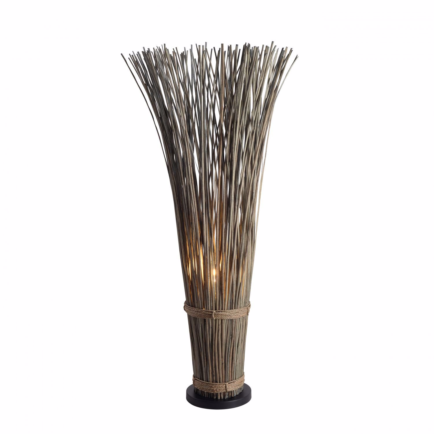 Picture of Sheaf Rattan Floor Lamp