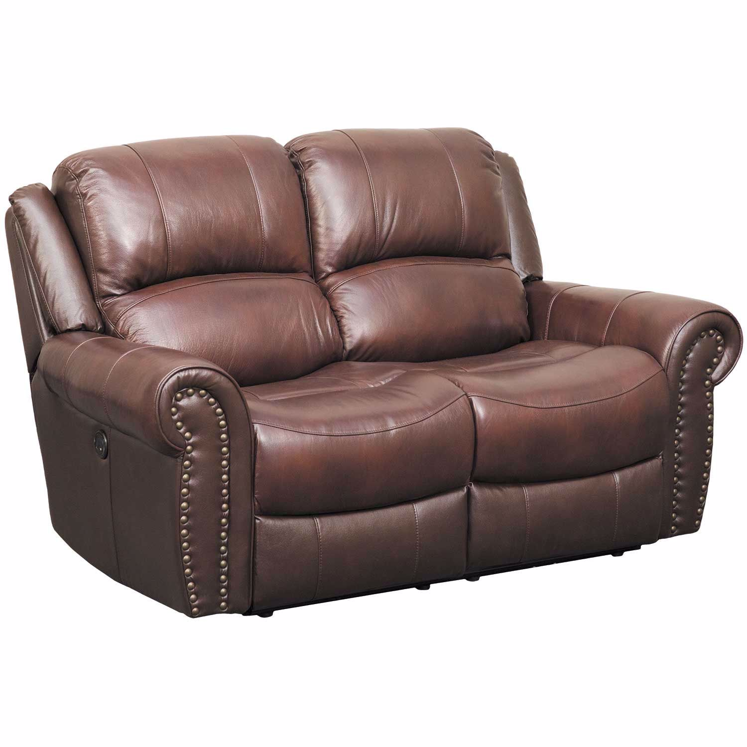 Church Hill Leather Power Reclining Loveseat 7120 52p