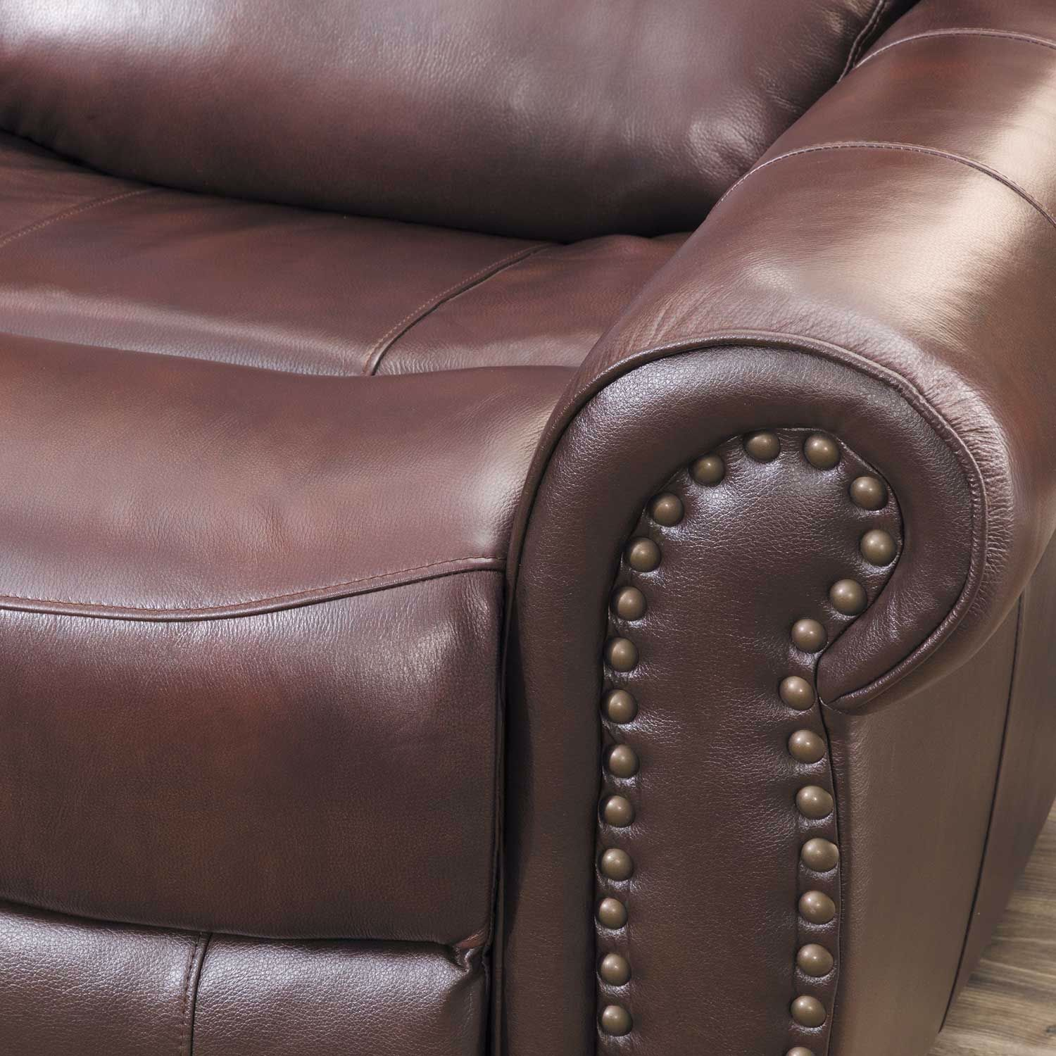 Picture of Church Hill Leather Power Reclining Loveseat