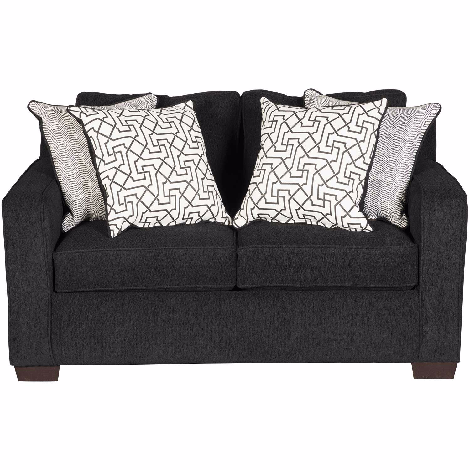 Picture of Guild Ebony Loveseat