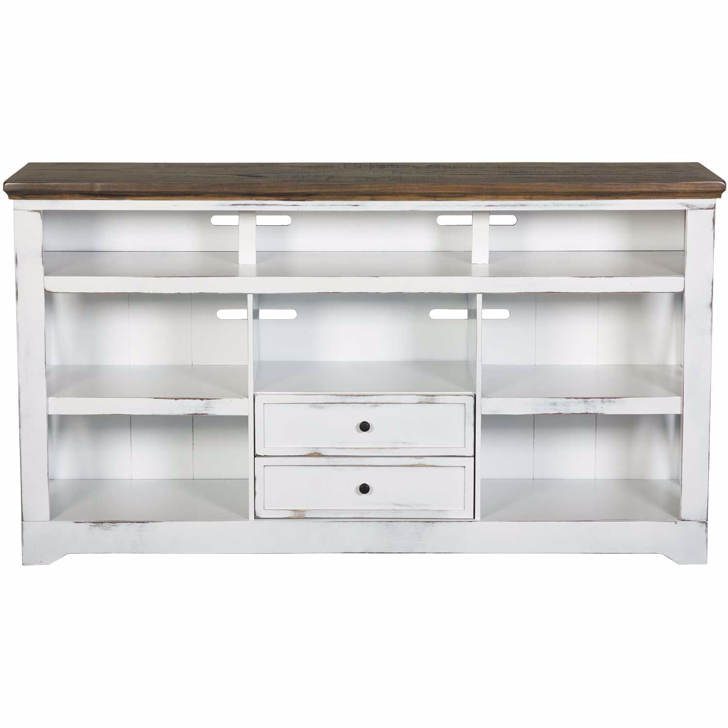 """Picture of Qatar 63"""" TV Stand, White"""