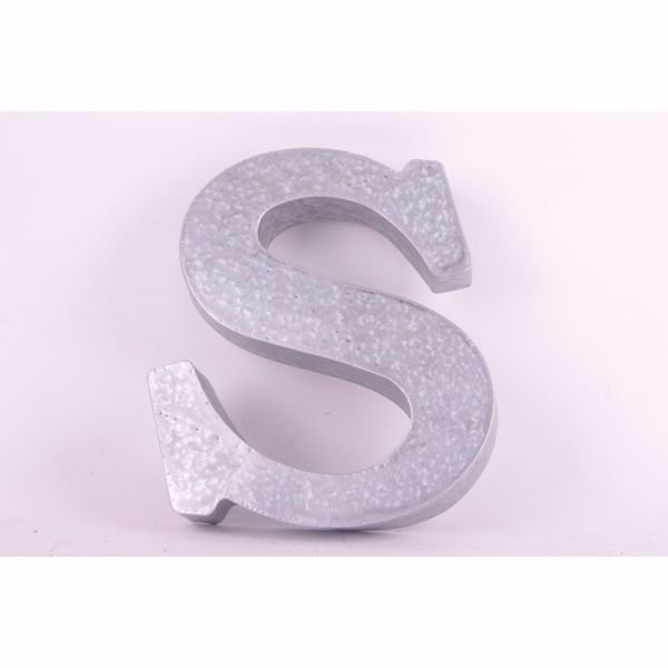Picture of Metal Letter S