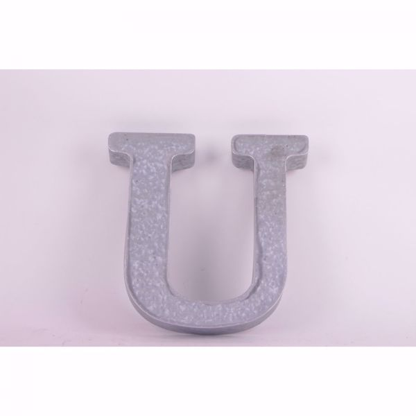 Picture of Metal Letter U