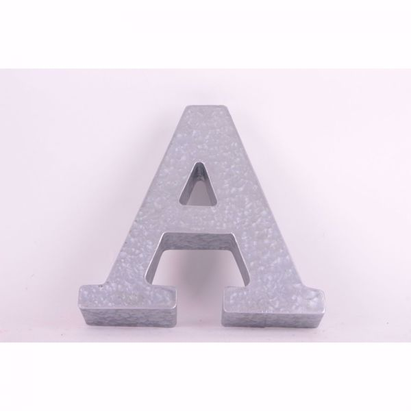 Picture of Metal Letter A