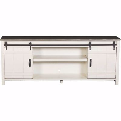 "Picture of Descanso 84"" Highboy Barn Console, Coastal"