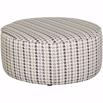 Picture of Grays Peak Houndstooth Ottoman