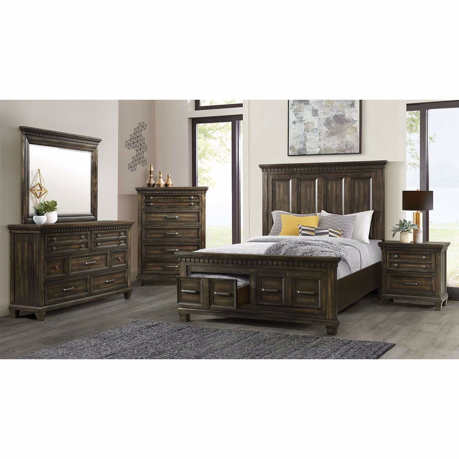 Picture of McCabe Queen Panel Bed