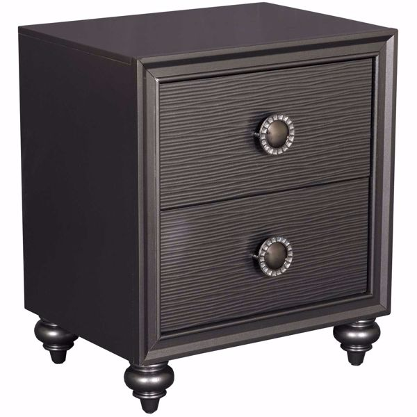 Picture of Wave 2 Drawer Nightstand