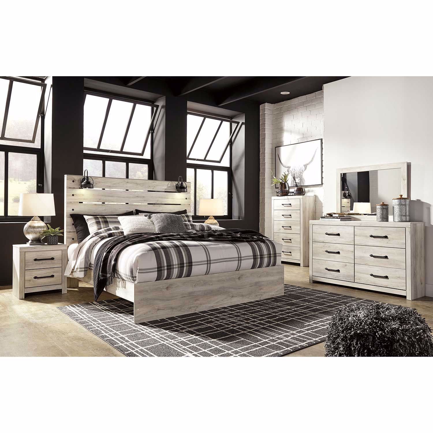 Picture of Cambeck King Panel Bed