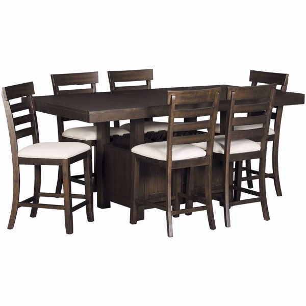 Picture of Colorado 7 Piece Counter Height Dining Set