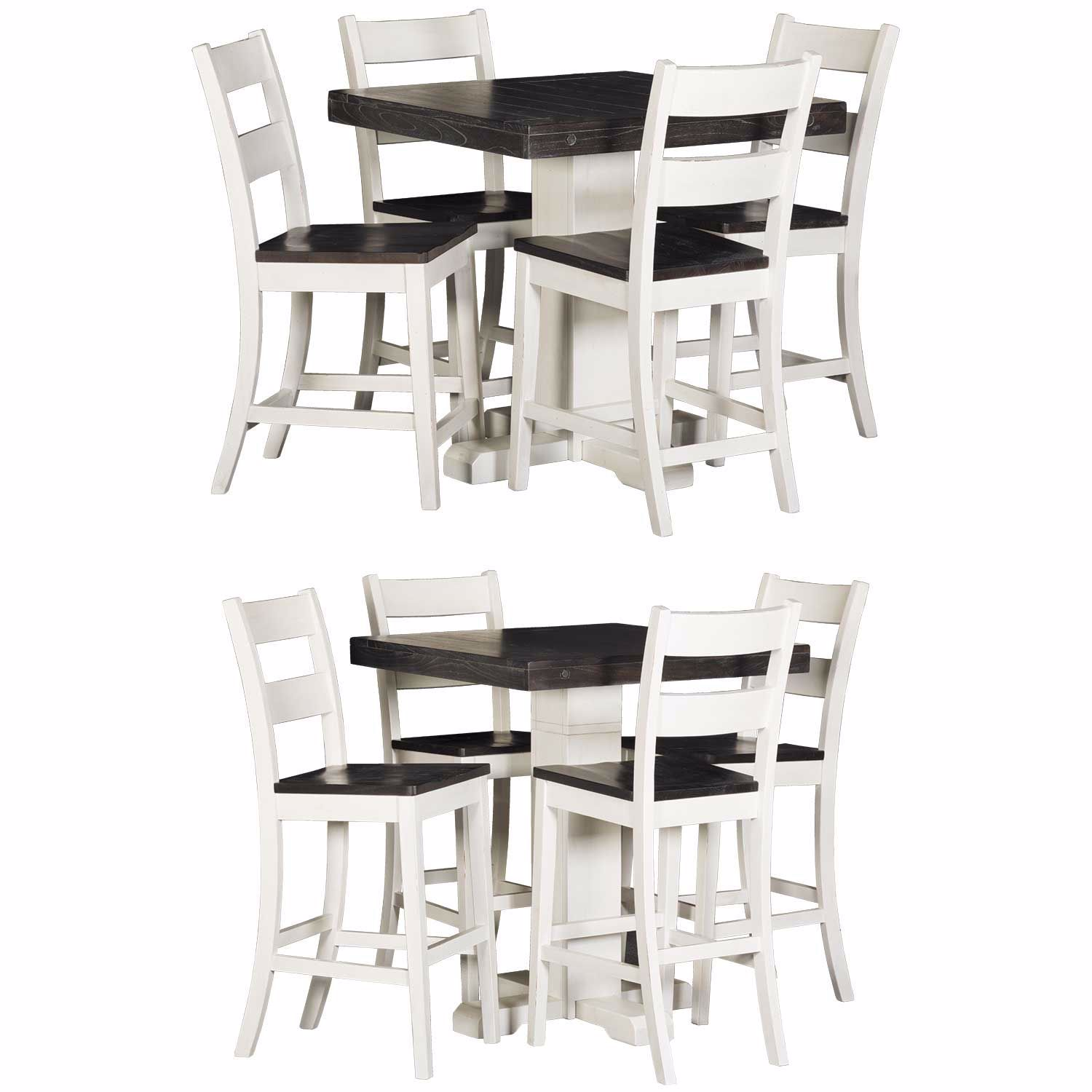 Picture of Bourbon Two-Tone 5 Piece Dining Set