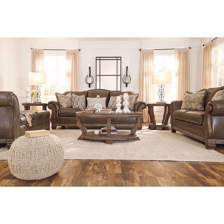 Malacara Quarry Leather Sofa