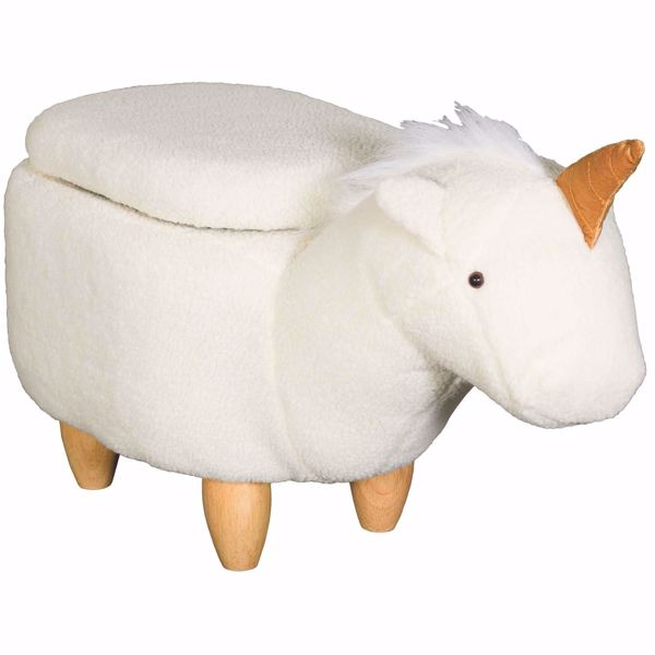Picture of Unicorn Storage Ottoman