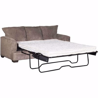 Picture of Cornell Pewter Queen Sleeper with Innerspring Mattress