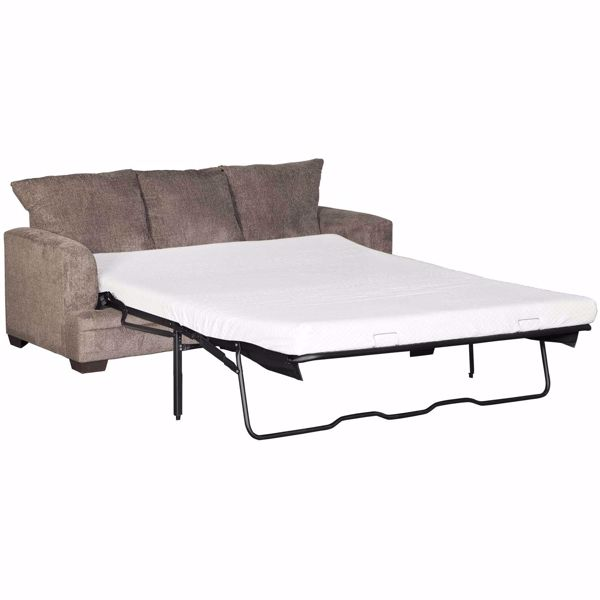 Picture of Cornell Pewter Queen Sleeper with Memory Foam Mattress