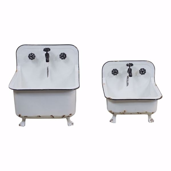 Picture of Set of Two Sink Planters