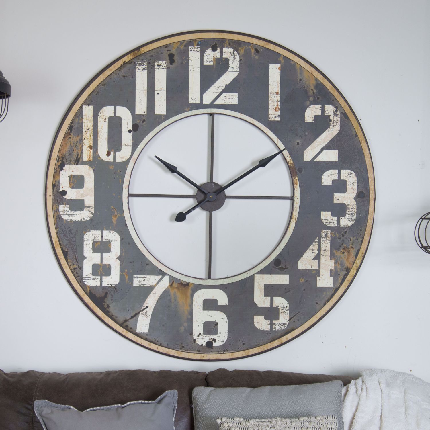 Picture of Black Wall Clock