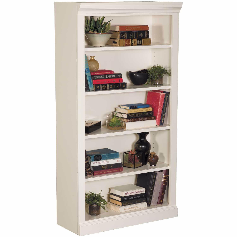 Picture of White Bookcase, 4 Shelf
