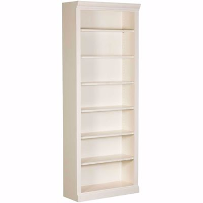 Picture of White Bookcase, 6 Shelf