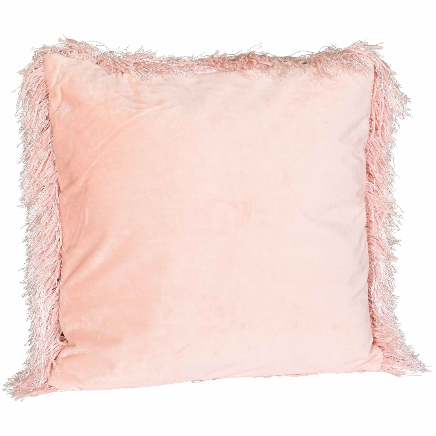 Picture of Blush Sparkle Shag 20x20 Pillow *P