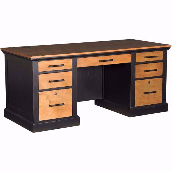 Toulouse Double Pedestal Desk IMTE680