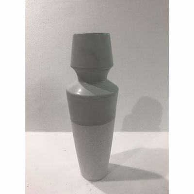 Picture of Grey White Ceramic Vase