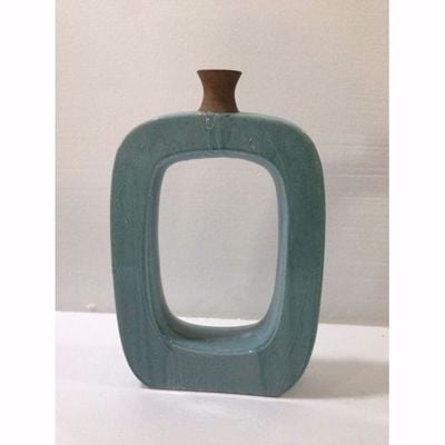 Picture of Open Spa Blue Vase