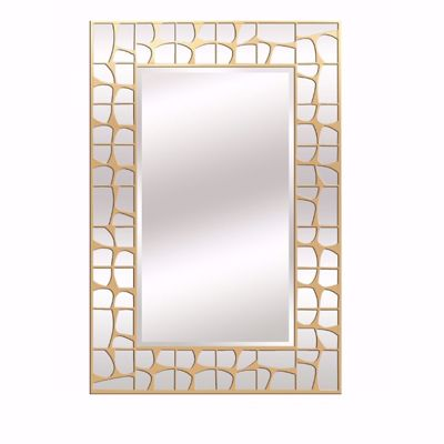 Picture of Gold Accent Wall Mirror