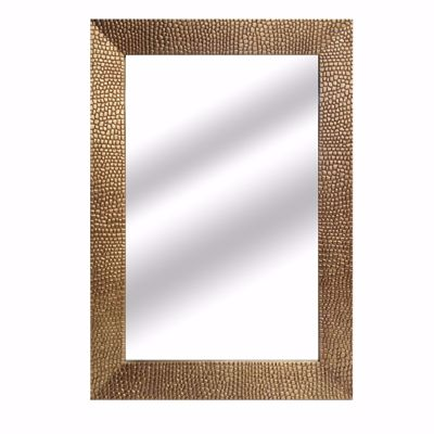 Picture of Gold Pebbled Wall Mirror