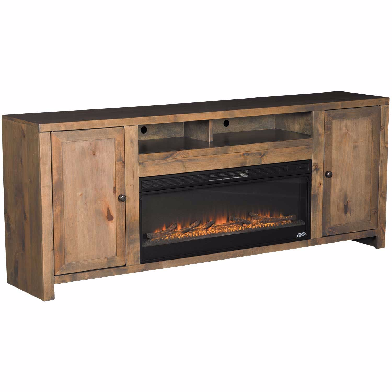 Picture of Joshua Creek 84 Inch Fireplace Console
