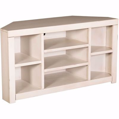 Picture of Sausalito Corner Console, White