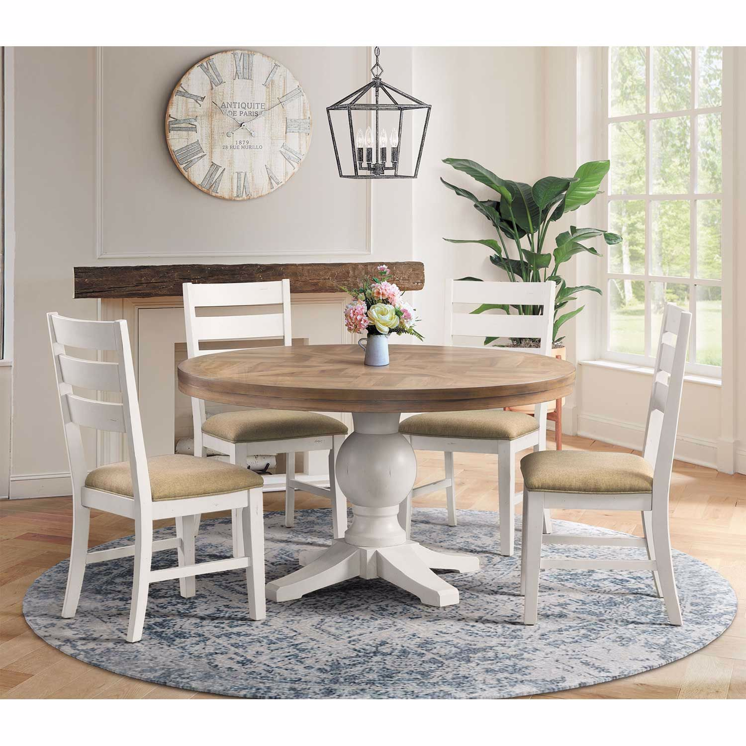 Picture of Park Creek 5 Piece Round Table Set
