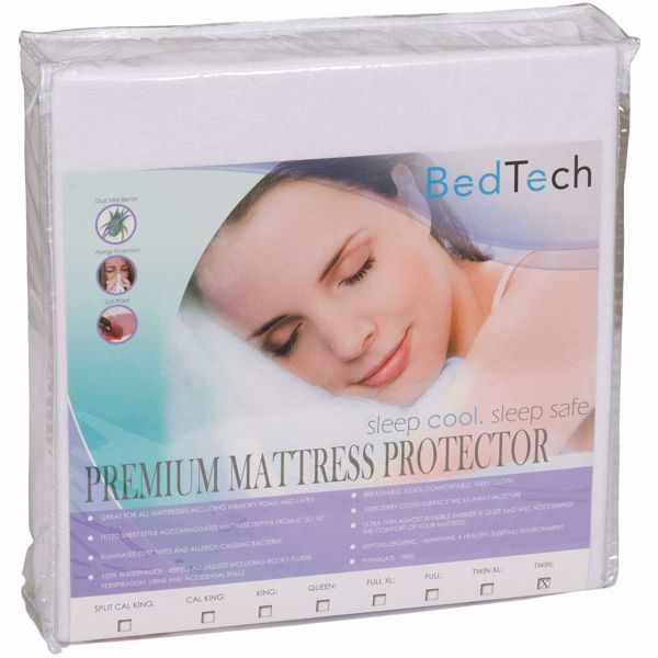 Picture of Twin Premium Terrycloth mattress protector