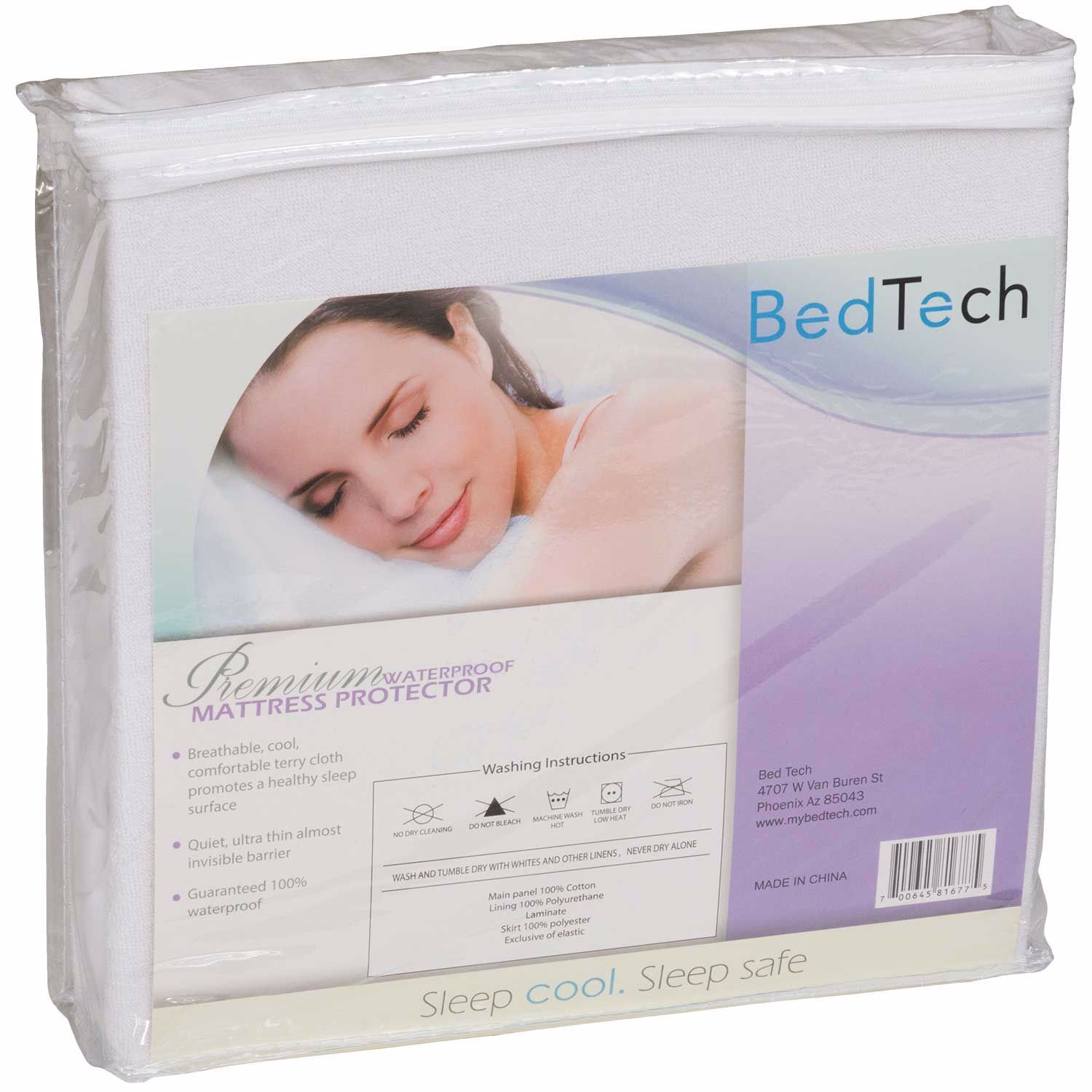 Picture of Full Premium Terrycloth mattress protector